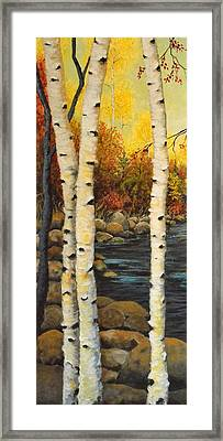 North Shore 3 Framed Print by Kimberly Benedict