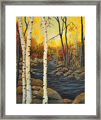 North Shore Framed Print by Kimberly Benedict