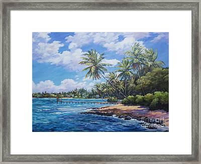 North Side Coastline  Framed Print by John Clark