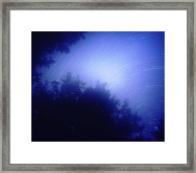 North Star Framed Print by Benjamin Garvey