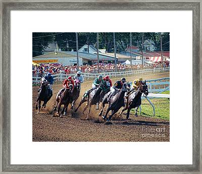 Northampton Fair 2000 Framed Print by Edward Sobuta