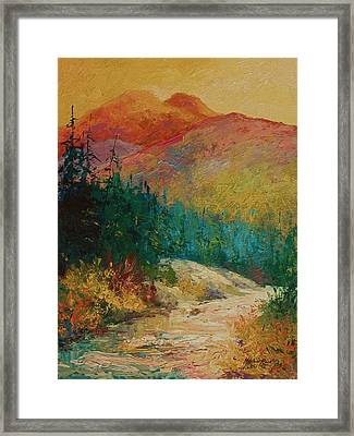 Northern Essence  Framed Print by Marion Rose