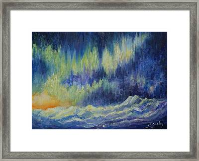 Northern Experience Framed Print by Joanne Smoley