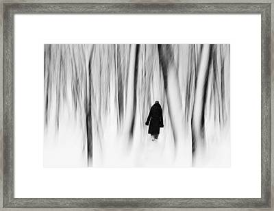 Norwegian Wood  Framed Print by Floriana Barbu