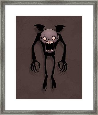 Nosferatu Framed Print by John Schwegel