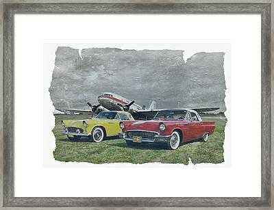 Nostalgia Airlines Framed Print by Steven Agius
