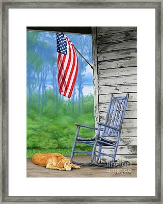 Country Pride Framed Print by Sarah Batalka
