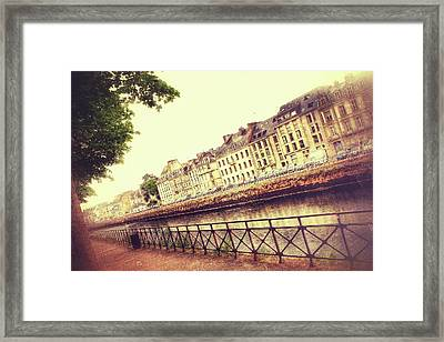 Nostalgic View Framed Print by Debra Cox