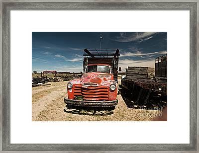 Not In Use Any Longer Framed Print by Christian Hallweger