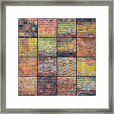 Not Just A Brick In The Wall Framed Print by Tim Gainey