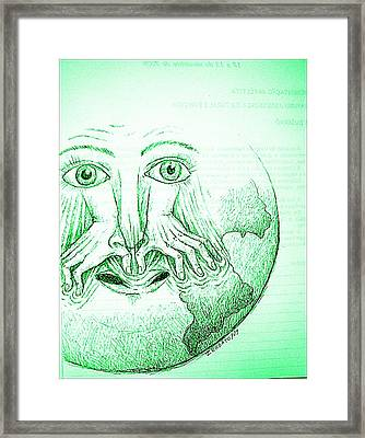 Not Question It Framed Print by Paulo Zerbato