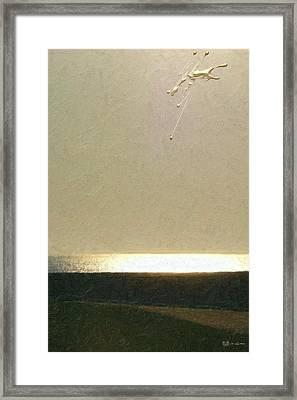 Not Quite Rothko - Golden Dawn - 1 Of 4 Framed Print by Serge Averbukh