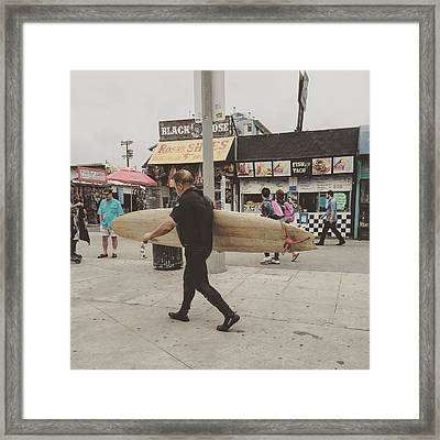 Not Surfing  Framed Print by Patricia Berger