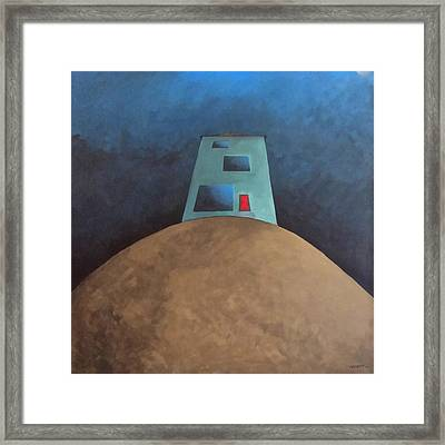 Not This House Framed Print by Cynthia Decker