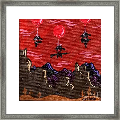 Not2b Trusted Framed Print by Dan Keough