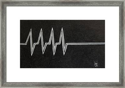 Nothing More, Nothing Less Framed Print by Nick Young