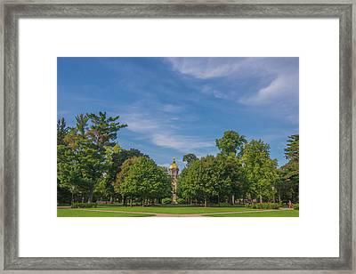 Notre Dame University 6 Framed Print by David Haskett