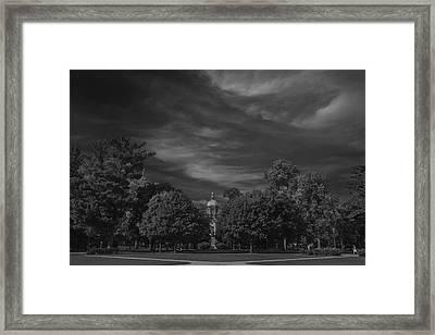 Notre Dame University 6a Framed Print by David Haskett
