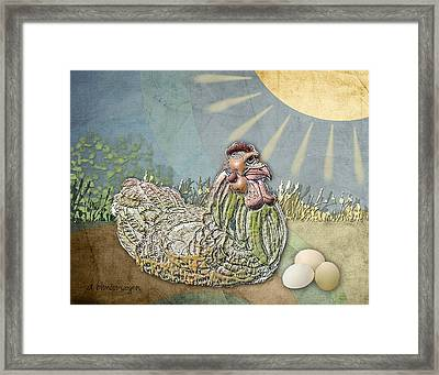 Now What.... Framed Print by Arline Wagner