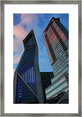 Nowhere To Go But Up Framed Print by Barbara  White