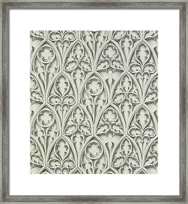 Nowton Court Framed Print by Augustus Welby Pugin