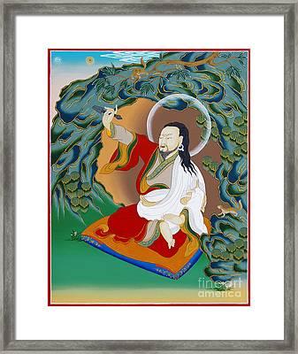 Nubchen Sangye Yeshe Framed Print by Sergey Noskov