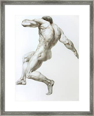 Nude 1 Framed Print by Valeriy Mavlo