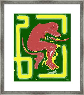 Nude 17 Framed Print by Patrick J Murphy