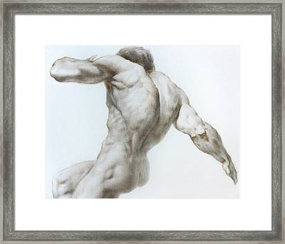 Nude 1a Framed Print by Valeriy Mavlo