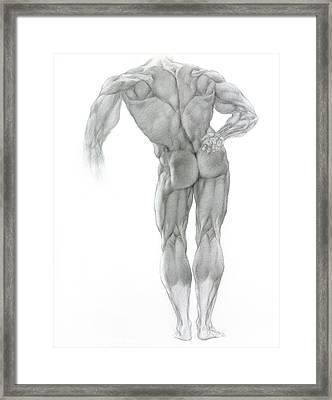 Nude 2 Framed Print by Valeriy Mavlo