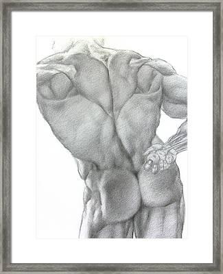 Nude 2a Framed Print by Valeriy Mavlo