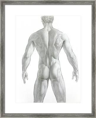 Nude 7 Framed Print by Valeriy Mavlo