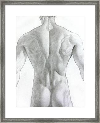 Nude 7a Framed Print by Valeriy Mavlo