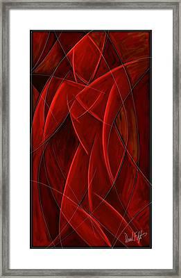 Nude Dancer Framed Print by David Kyte