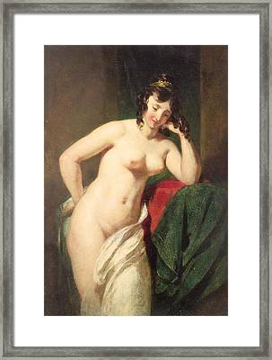 Nude Framed Print by William Etty