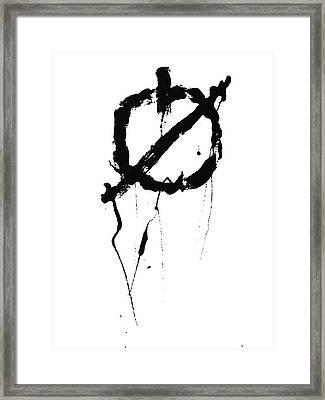 Null Framed Print by H James Hoff