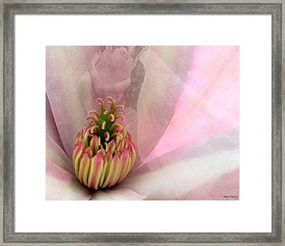 Nuptial Framed Print by Torie Tiffany
