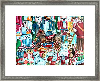 Nutcracker Suite Framed Print by Mindy Newman