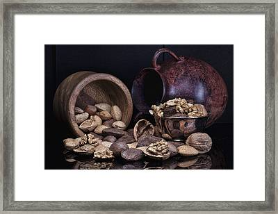 Nuts Framed Print by Tom Mc Nemar
