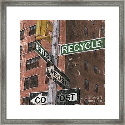 Nyc Broadway 1 Framed Print by Debbie DeWitt