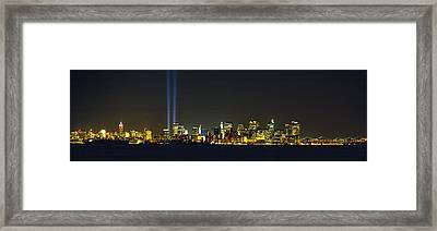 Nyc, New York City, New York State, Usa Framed Print by Panoramic Images