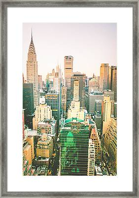 NYC Framed Print by Vivienne Gucwa
