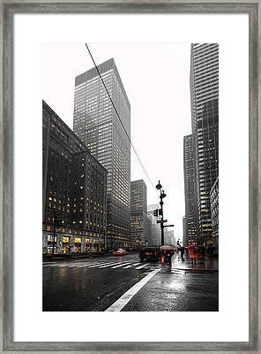 Nyc044 Framed Print by Svetlana Sewell