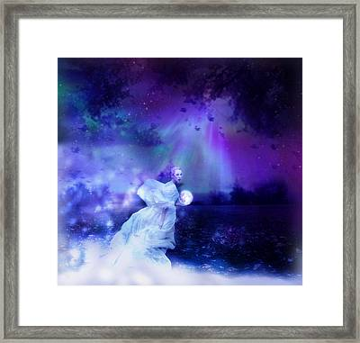 Nymph Of December Framed Print by Lilia D