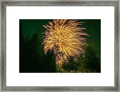 O Canada - The Big Bang Framed Print by Steve Harrington