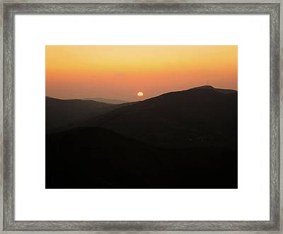 O Cebreiro Framed Print by Oliver Johnston