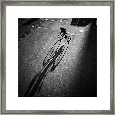 O O Framed Print by Jianwei Yang