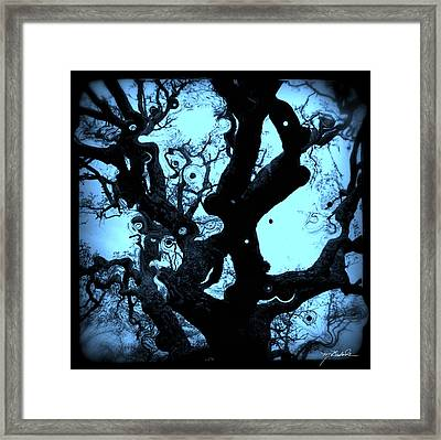 Oak Tree Dream Shot Framed Print by Melissa Wyatt