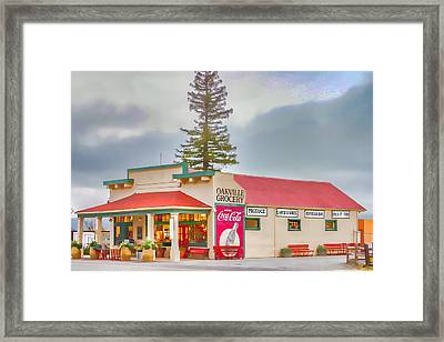 Oakville Grocery Framed Print by Bill Gallagher