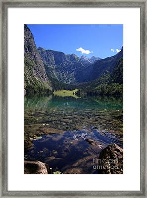 Obersee Framed Print by Nailia Schwarz